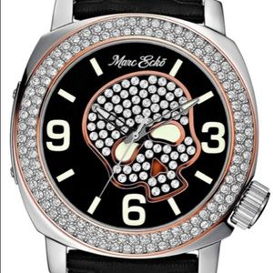 Other - Men's Marc Ecko Skull Watch
